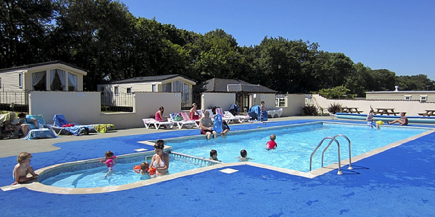 Caravans for sale and on display at beeches holiday park - Holiday homes in somerset with swimming pool ...