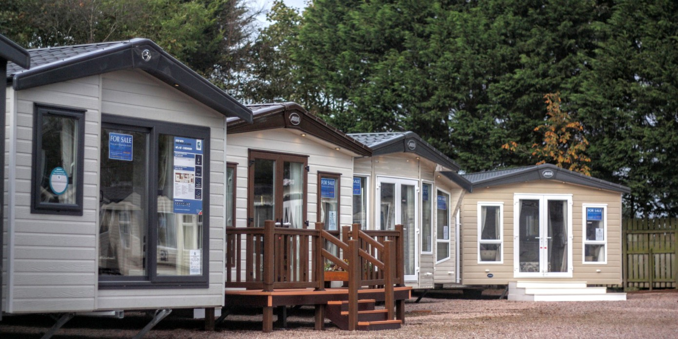 Dorset caravan and lodges sales centre at Bridport