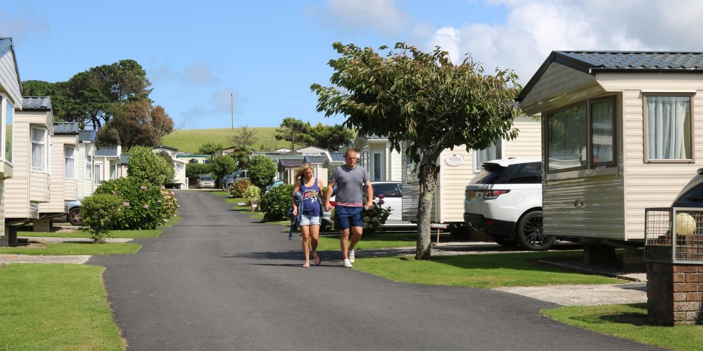 Polzeath Beach Holiday Park Homes Available