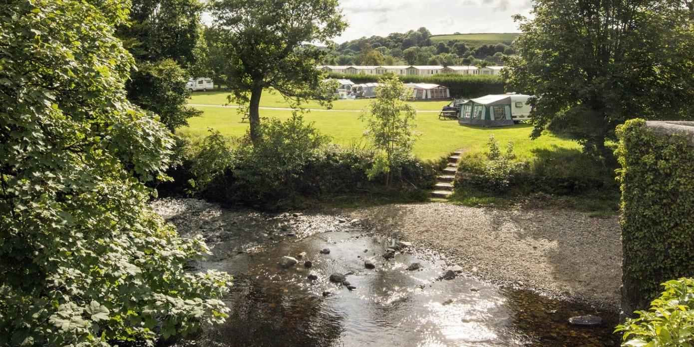 Harford Bridge Holiday Park in Tavistock Caravans to Buy