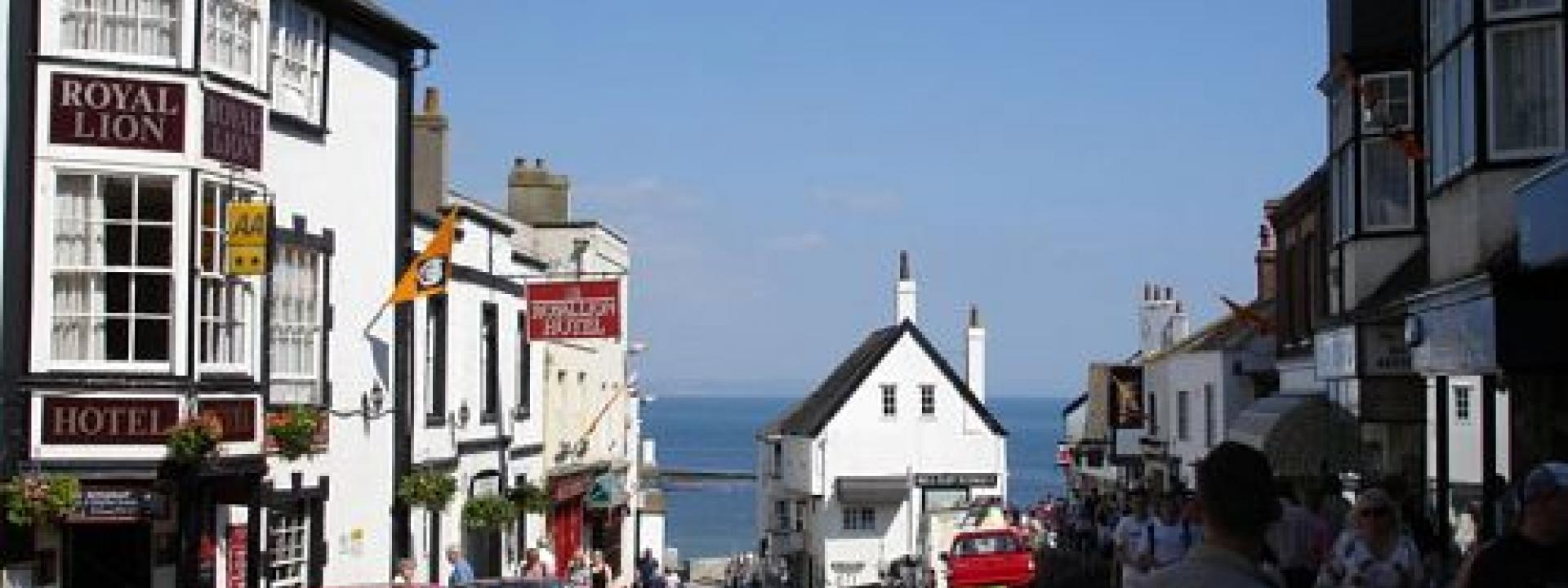 Holiday Parks Harbour Town Lyme Regis In Dorset